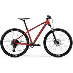 "Велосипед горный Merida Big.Nine 400 (2020) К:29"" Р:M(17"") SilkX'maxRed/Black/Red"