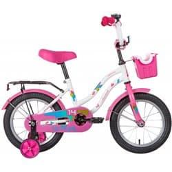 """Велосипед 14"""" NOVATRACK TETRIS Белый"""