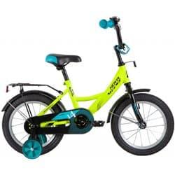 """Велосипед 14"""" NOVATRACK VECTOR Зеленый"""