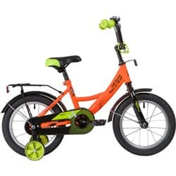 """Велосипед 14"""" NOVATRACK VECTOR Оранжевый"""