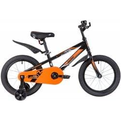 """Велосипед 16"""" NOVATRACK JUSTER Черный"""