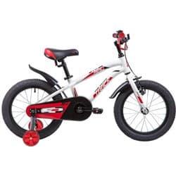"""Велосипед 16"""" NOVATRACK PRIME Алюминиевая рама Белый"""