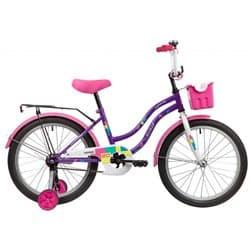 """Велосипед 20"""" NOVATRACK TETRIS Фиолетовый"""