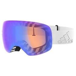 Очки Adidas Backland Spherical AD86 1600 White Matt (Light blue mirror)