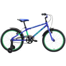 "Велосипед 20"" WELT Dingo Dark Blue/Green 2020"