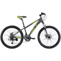 "Велосипед 24"" WELT Peak 24 Disc Matt Grey/Green 2020"
