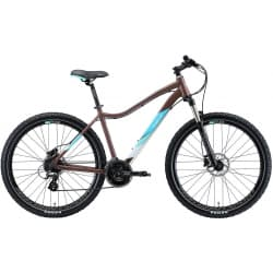"Велосипед женский 27.5"" WELT Edelweiss 2.0HD 16"" Matt Bronze/Light Blue 2020"