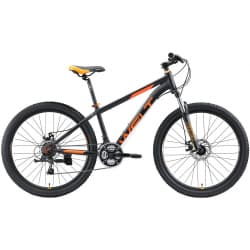 "26"" WELT Peak 26 Disc Matt Black/Orange 2020"