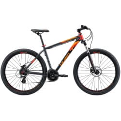 "Велосипед 27.5"" WELT Ridge 2.0HD 20"" Grey/Orange/Red 2020"