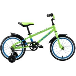 "Велосипед 16"" WELT Dingo Acid Green/Blue 2020"