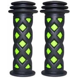Грипсы H-G 98 black/green 105мм.