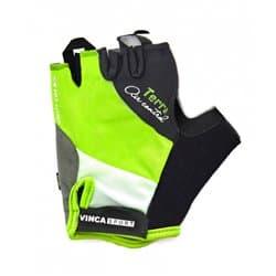 Перчатки вело VINCA VG-933 TERRA Green XL
