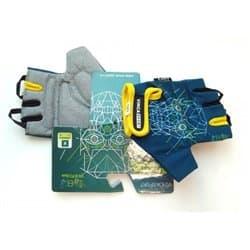 Перчатки вело VINCA детские VG 970 Iron boy blue (4 года)