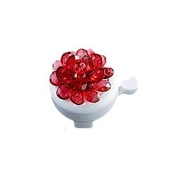 Звонок вело YL 12 red (Цветок красный)