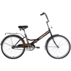 """Велосипед 24"""" NOVATRACK Складной TG-24 Черный"""
