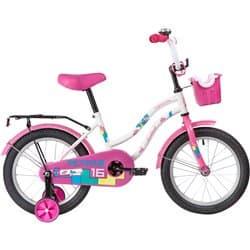 """Велосипед 16"""" NOVATRACK TETRIS Белый"""