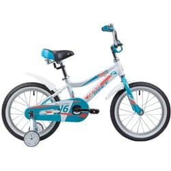 """Велосипед 16"""" NOVATRACK NOVARA Белый"""