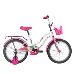"""Велосипед 18"""" NOVATRACK TETRIS Белый"""