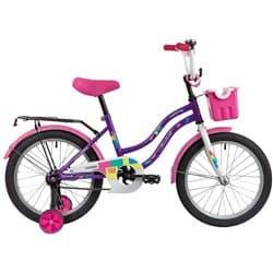 """Велосипед 18"""" NOVATRACK TETRIS Фиолетовый"""