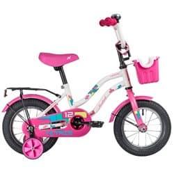 """Велосипед 12"""" NOVATRACK TETRIS Белый"""