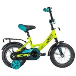 """Велосипед 12"""" NOVATRACK VECTOR Салатовый"""