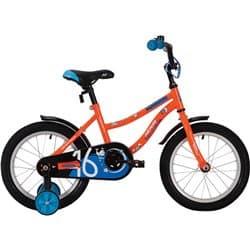 """Велосипед 16"""" NOVATRACK NEPTUNE Оранжевый"""