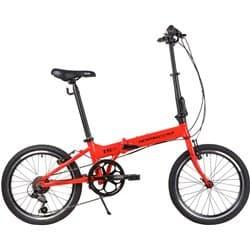 """Велосипед Складной 20"""" NOVATRACK TG-20 6 скор. Алюм. Красный"""