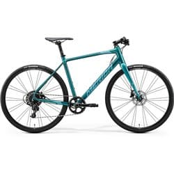 Велосипед Merida Speeder Limited К:700C Р:ML(54см) Glossy Green-Blue/Teal
