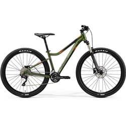 "Велосипед горный Merida Matts 7.300 К:27,5"" Р:S(16"") SilkFogGreen/Black/Orange"