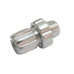 Болт регулировочный тормозного троса 10x16 серебр. ZTB17874