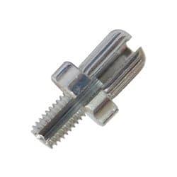 Болт регулировочный тормозного троса 7x16 серебр. ZTB17876