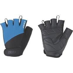 Перчатки вело BBB 2018 Cooldown Черный/Синий L