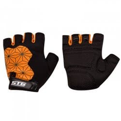 Перчатки вело STG Replay черно/оранж XL Х95305-ХЛ