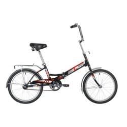 """Велосипед складной 20"""" NOVATRACK TG-30 Черный"""