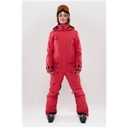 Комбинезон COOL ZONE TWIN ONE COLOR красный джинс Р:XXS