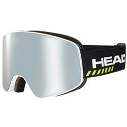 Очки HEAD Horizon Race DH + SpareLens white/black/silver-brown 390049