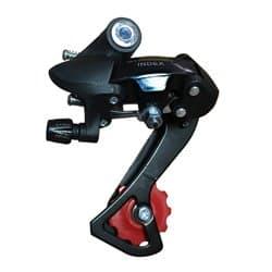 Переключатель задний HG-34A длинная лапка на петух, сталь/пласт. ZTB18129