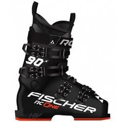 Ботинки FISCHER® RC ONE X 90 BK/BK/BK/RD 26.5