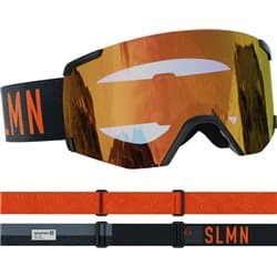 Очки SALOMON S/VIEW SIGMA Bk/Uni PoppyRed Cat.1