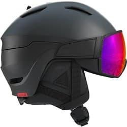 Шлем SALOMON DRIVER Black/Red Accent/SOLAR L 59-62