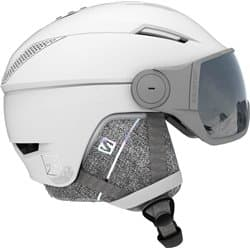 Шлем SALOMON ICON² VISOR WHITE/Univ Silver M 56-59
