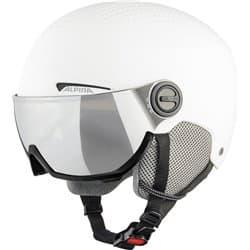Шлем ALPINA Arber Visor White Matt 54-58