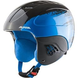 Шлем ALPINA Carat Black/Blue 54-58