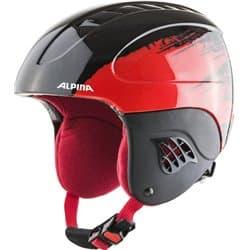 Шлем ALPINA Carat Black/Red 51-55