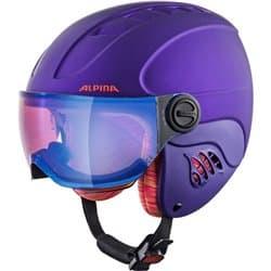Шлем ALPINA Carat Le Visor HM Royal/Purple Matt 54-58