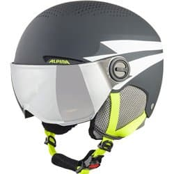 Шлем ALPINA Zupo Visor Charcoal/Neon Matt 54-58