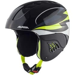 Шлем ALPINA Carat Black Neon/Lime 48-52