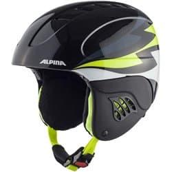 Шлем ALPINA Carat Black Neon/Lime 48-52