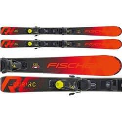 Лыжи FISCHER THE CURV JR 130 + FJ7