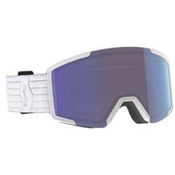 Очки SCOTT® Shield + extra lens white (enhancer blue chrome) Cat.2